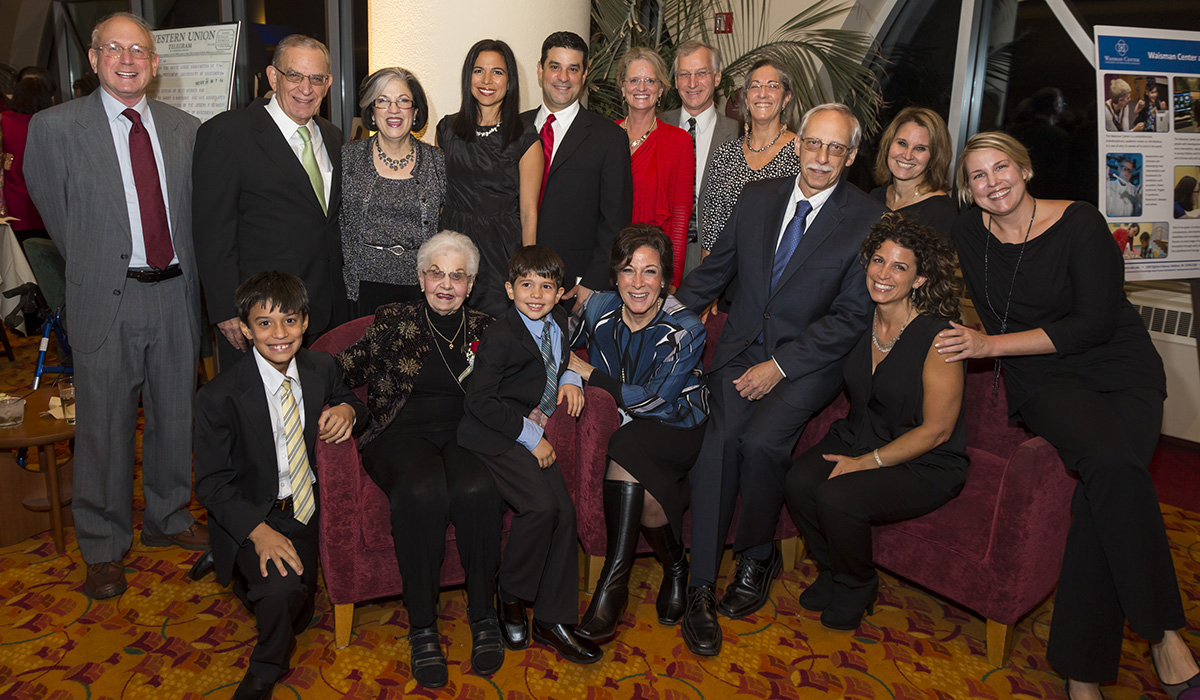 Ethel Waisman and Family