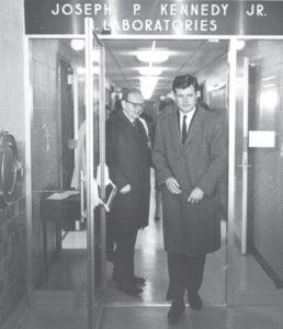 Ted Kennedy at Waisman precursor