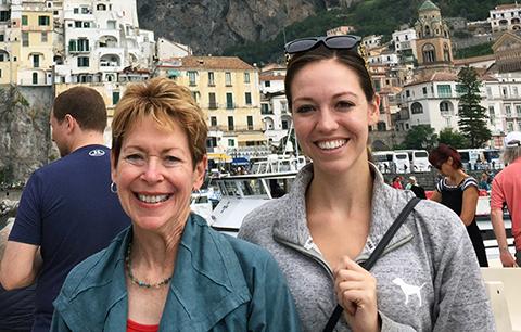 Denise Ney and Bridget Stroup