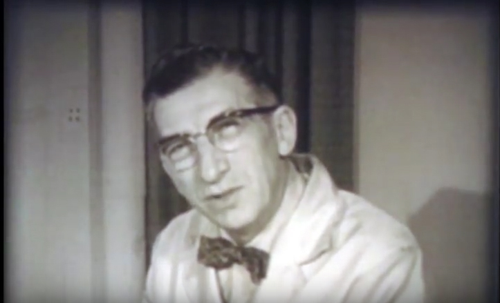 Historical video of Harry Waisman discussing PKU