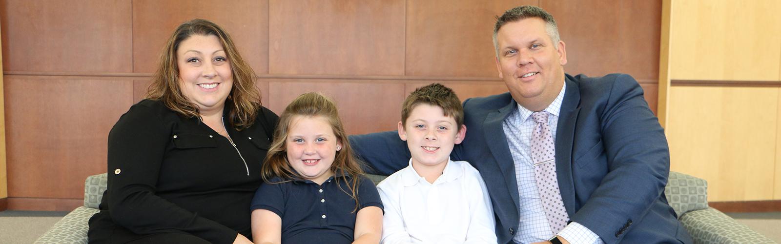 Scott Kornstedt and family