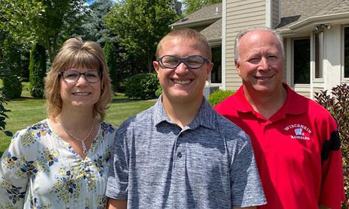 Sharon, Steve & James Manlick