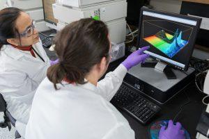 Shreya Desai and Nicolas Llano analyze product quality