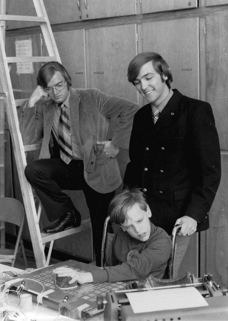 David Lamers, GreggVanderheiden, and Ludell Swenson (front)