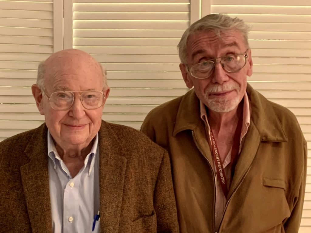 Richard Morse, MD, and Lawrence Connor, MSW