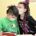 Sebastian and Charlotte Sundly Cerebral Palsy Clinic Covid Masks