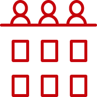 Audience Icon - red
